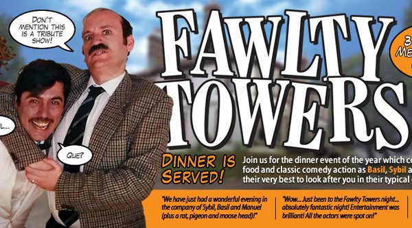 Read: ON SALE NOW...... Fawlty Towers Dining Experience!